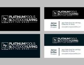 #126 para Design Business Cards For Pool Company por albamingogallego