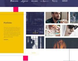 Nro 33 kilpailuun webpage designed to showcase a photograph käyttäjältä SK813