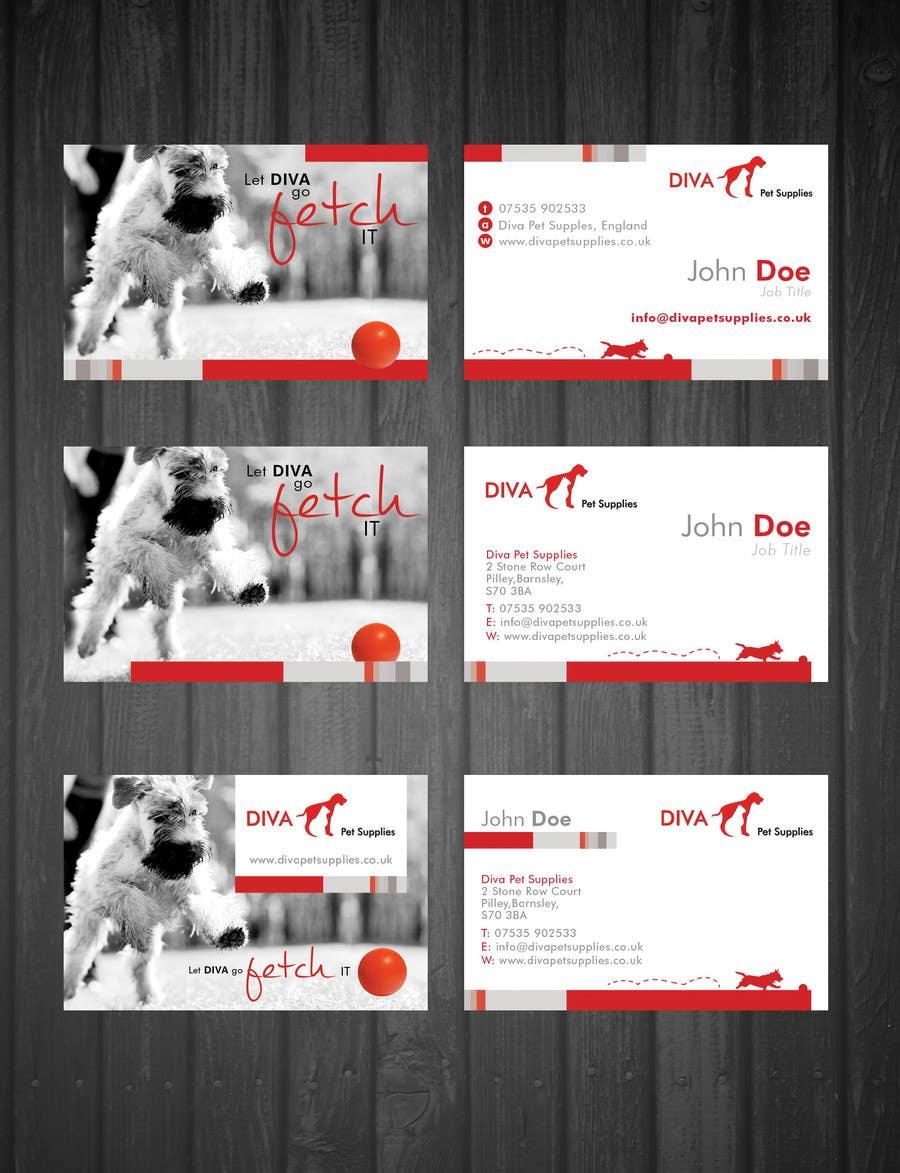 Konkurrenceindlæg #                                        15                                      for                                         Stationery Design for Diva Pet Supplies
