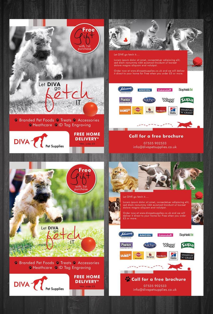Konkurrenceindlæg #                                        16                                      for                                         Stationery Design for Diva Pet Supplies