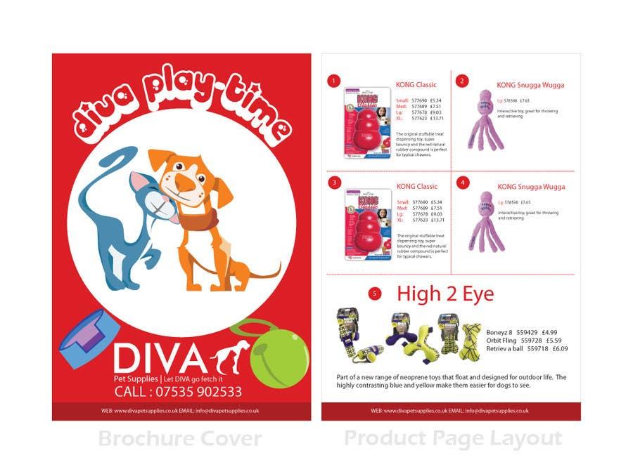 Konkurrenceindlæg #                                        18                                      for                                         Stationery Design for Diva Pet Supplies