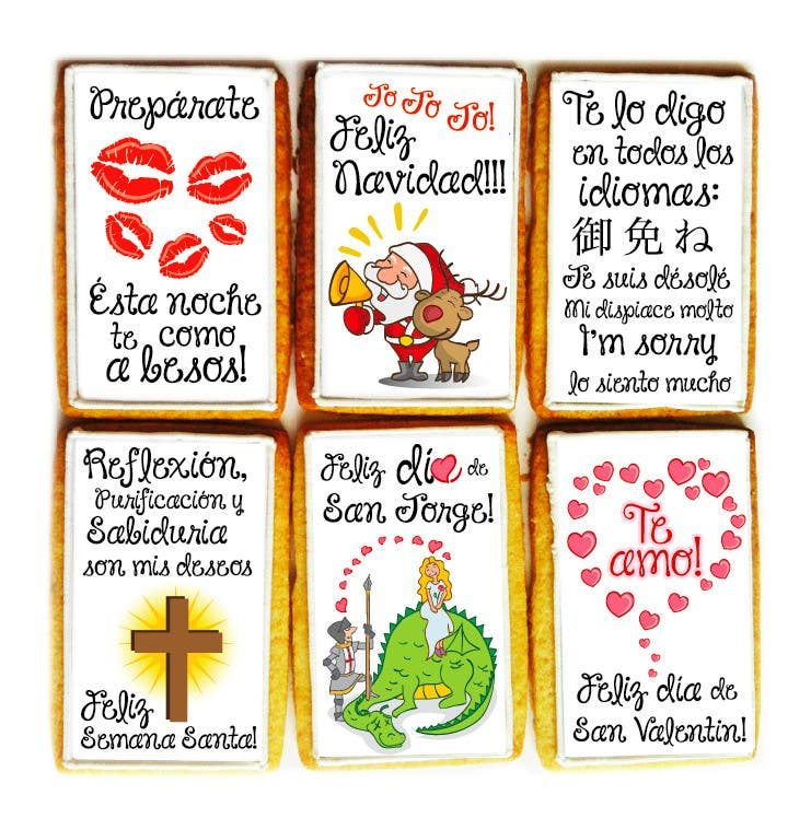Penyertaan Peraduan #                                        41                                      untuk                                         Illustration Design for diselo con una galleta! Spain