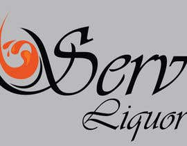 "Nro 13 kilpailuun Design a Logo for ""Liquorserv"" - Liquor Delivery Service käyttäjältä Lyubarskiy"