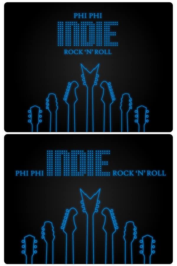 Konkurrenceindlæg #                                        55                                      for                                         Logo Design for Phi Phi Indie Rock & Roll