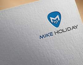 "#99 para modern, cool logo for dj  ""Mike Holiday"" por shohanjaman26"