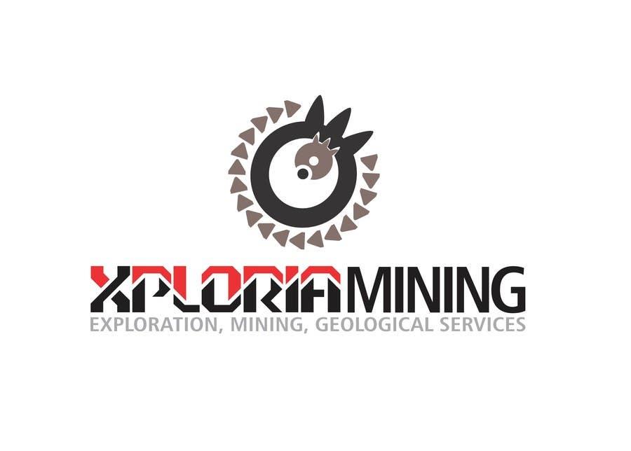 Kilpailutyö #                                        23                                      kilpailussa                                         Logo Design for a Mining Company