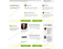 #163 para Website Design for 1 Tree Planted de arnygn2009