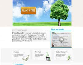 #125 cho Website Design for 1 Tree Planted bởi designtechweb