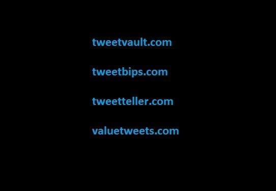 Kilpailutyö #8 kilpailussa Create a domain name for a new twitter service