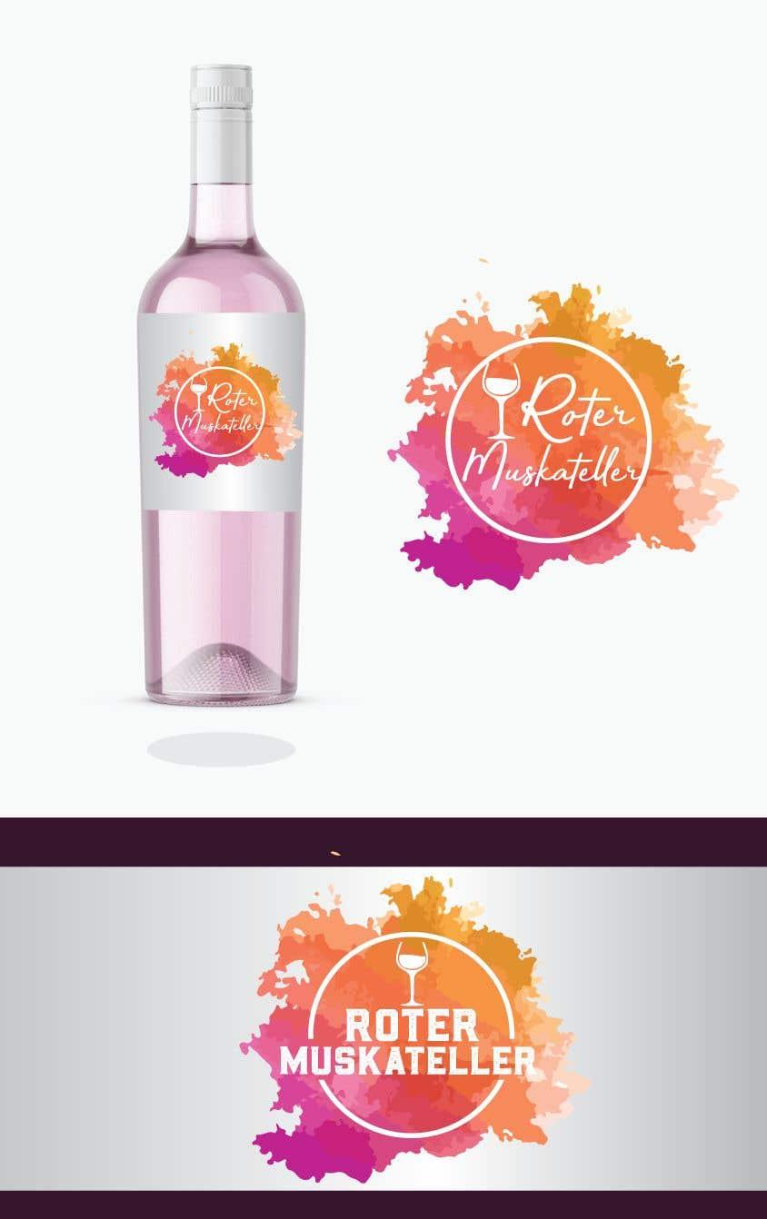 Proposition n°                                        3                                      du concours                                         wine bottle label design