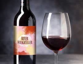 nº 25 pour wine bottle label design par claudiadebsas