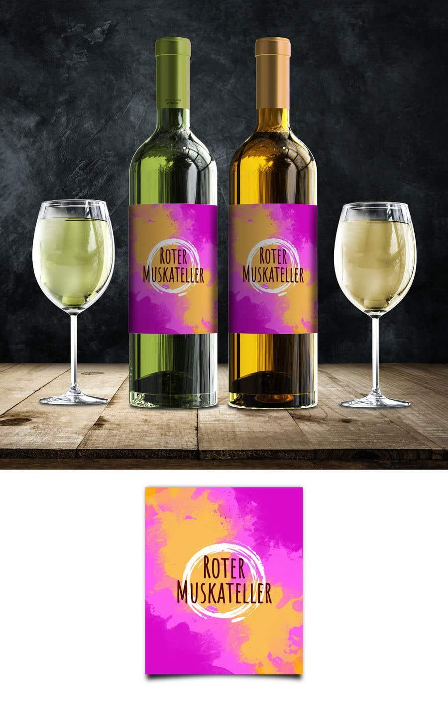 Proposition n°                                        27                                      du concours                                         wine bottle label design