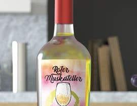 nº 19 pour wine bottle label design par renegordillo