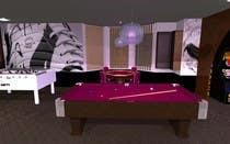 Basement Planing and Interior Design için 3D Modelling36 No.lu Yarışma Girdisi