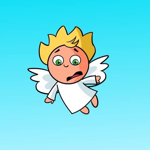 #8 for Cartoon for Angel Iphone Game by artinearth