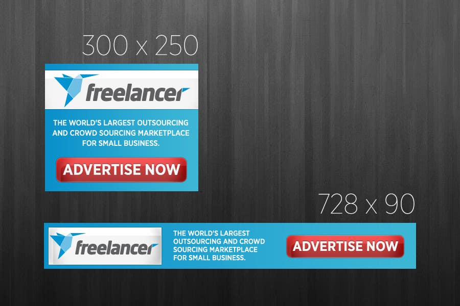Contest Entry #                                        7                                      for                                         Banner Ad Design for Freelancer.com
