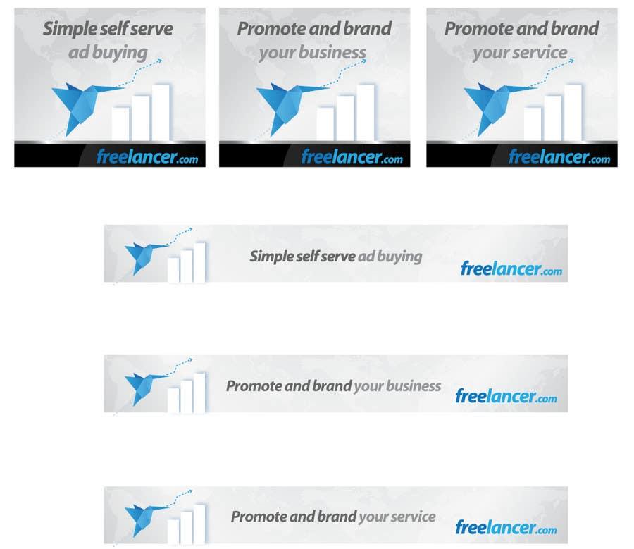Inscrição nº                                         128                                      do Concurso para                                         Banner Ad Design for Freelancer.com