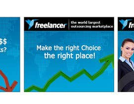 #127 for Banner Ad Design for Freelancer.com af BenGraphics
