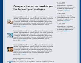 Nro 12 kilpailuun HTML/CSS DESIGN & Alignments käyttäjältä rebonmalik