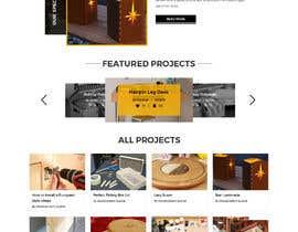 #82 for Create a website for a fine woodworking af adixsoft