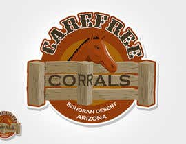 #3 for Logo Design for Carefree Corrals, a non-profit horse rescue. by rogeliobello
