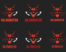#1 for illustrative logo Dr.Monster Mind af PsiviPopa