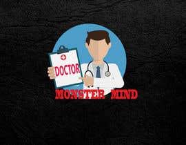 #47 for illustrative logo Dr.Monster Mind af nazma1996
