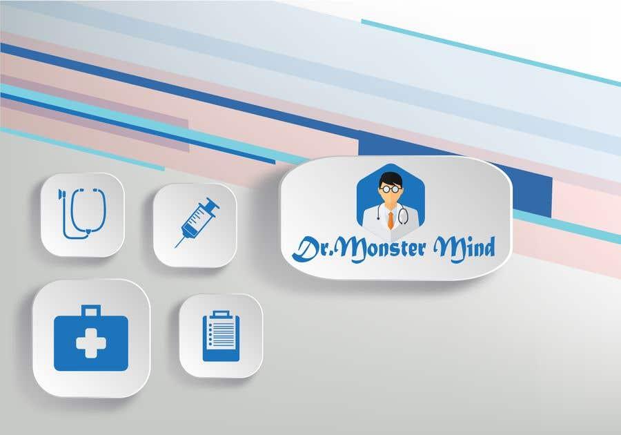 Proposition n°39 du concours illustrative logo Dr.Monster Mind
