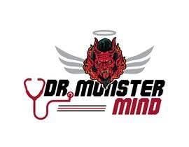 #3 for illustrative logo Dr.Monster Mind af sunny005