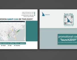 #42 for Graphic Design for Promotional Post Card by Luckymim193