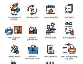 #9 for Design 20 icons (same style/look & feel) by ARTworker00