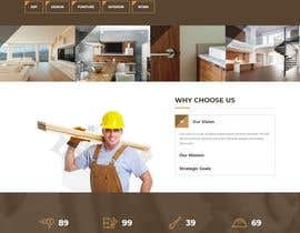 #54 for Create website for a fine woodworking by farabiislam888