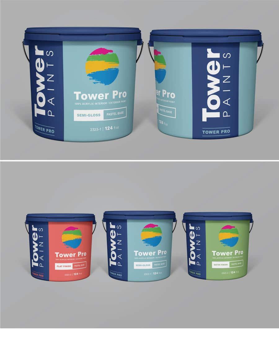 Entry 6 By Kbhaskarsaxena For Need Modern Label Design For Paint Cans Freelancer