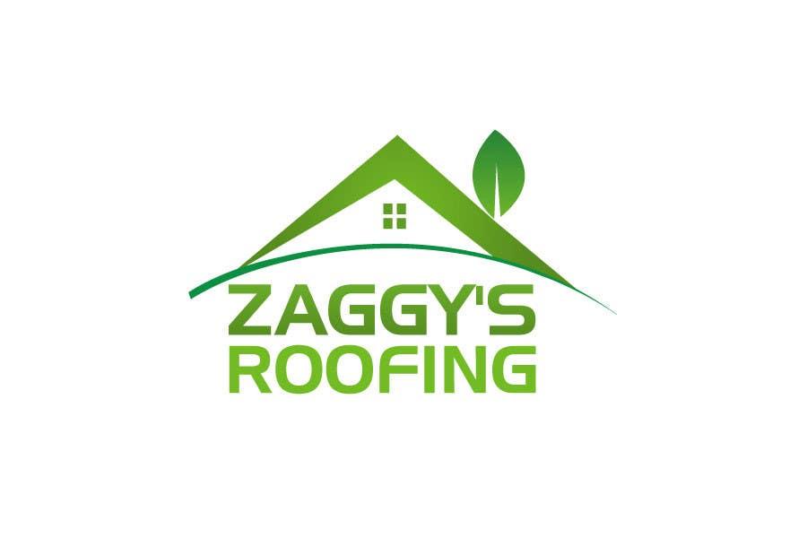Inscrição nº 83 do Concurso para Logo Design for Zaggy's Roofing