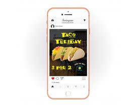 #23 untuk Create Instagram advertisement for Taco Tuesdays oleh andjelicnikola