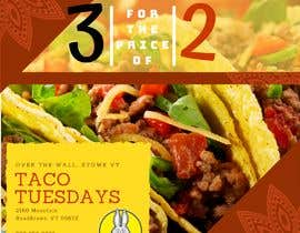 #12 untuk Create Instagram advertisement for Taco Tuesdays oleh exclaimdesign