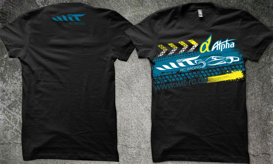 Proposition n°7 du concours T-shirt Design for a RC-Car Company
