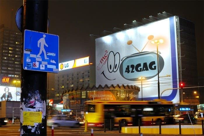 Inscrição nº                                         42                                      do Concurso para                                         Logo Design for sciency but funny image site: 42gag.com