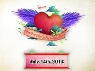 Graphic Design Inscrição do Concurso Nº1 para beating heart of love