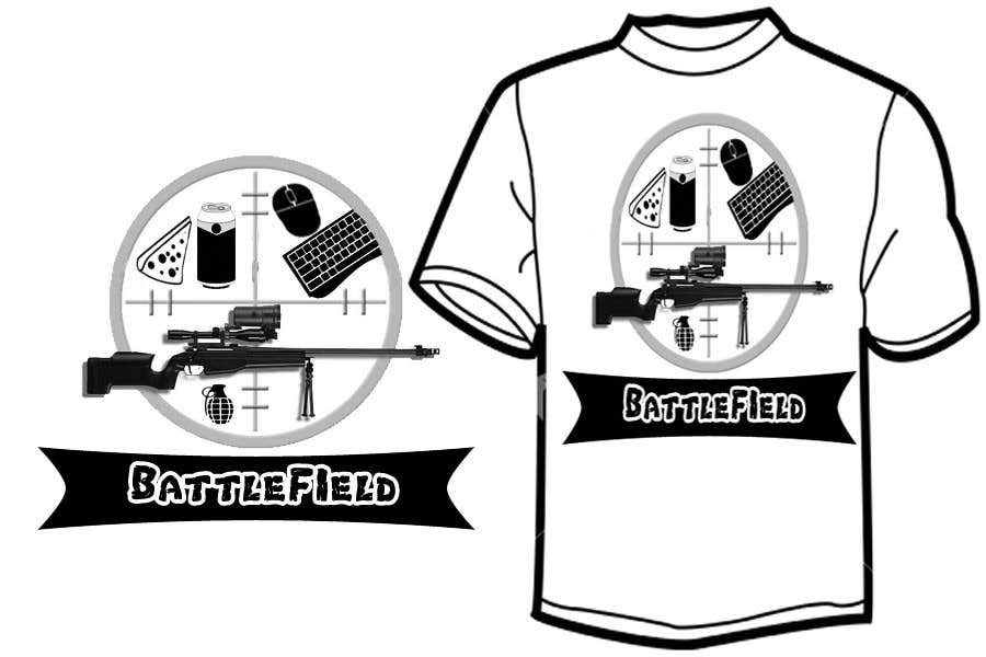 Proposition n°                                        52                                      du concours                                         Battlefield Tactical Warfare Pack [Gaming] T-shirt Design