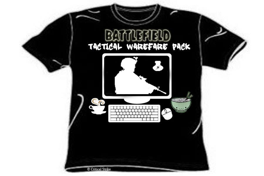 Proposition n°                                        8                                      du concours                                         Battlefield Tactical Warfare Pack [Gaming] T-shirt Design