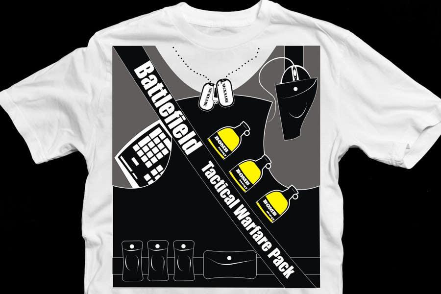 Proposition n°                                        28                                      du concours                                         Battlefield Tactical Warfare Pack [Gaming] T-shirt Design