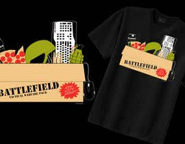 #51 untuk Battlefield Tactical Warfare Pack [Gaming] T-shirt Design oleh MedioPicky