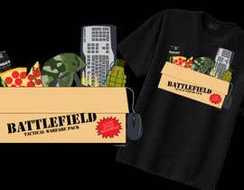 #10 untuk Battlefield Tactical Warfare Pack [Gaming] T-shirt Design oleh MedioPicky