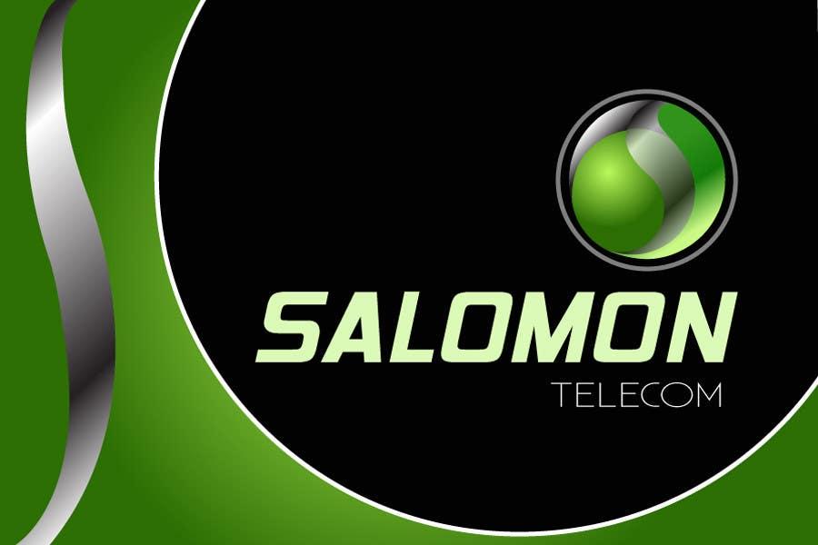 Inscrição nº 160 do Concurso para Logo Design for Salomon Telecom