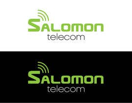 #54 para Logo Design for Salomon Telecom por CrimsonPumpkin