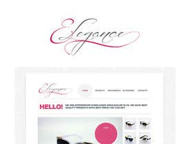 nº 175 pour Logo Design for Elegance Eye Wear par zetabyte