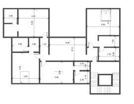 #21 for House Floor Plan by wafaakotb