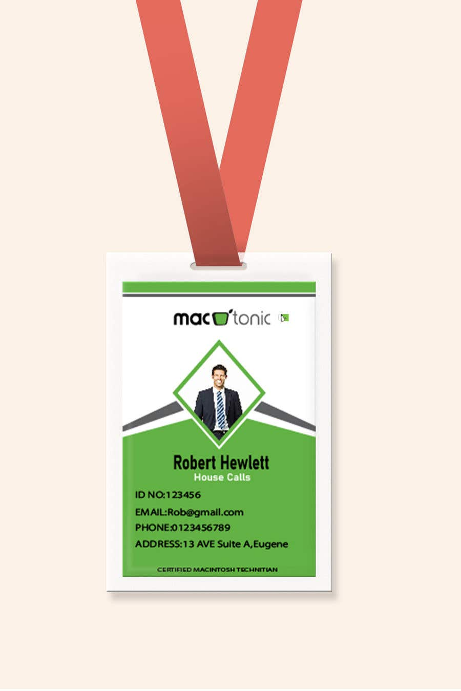 Entry 50 By Arshawon1117 For Create Employee Id Badge