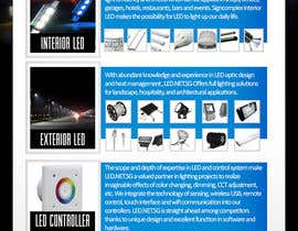 #14 for Advertisement Design for LED lighting products. by creationz2011